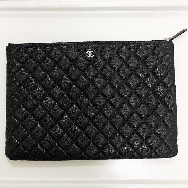 88f27631ca380e Authentic Chanel Clutch, Luxury, Bags & Wallets on Carousell