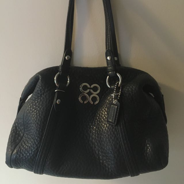 Authentic Coach purse in black!