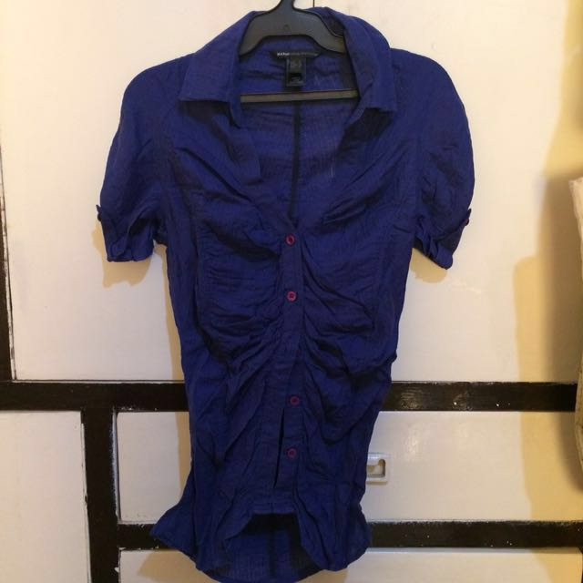 Authentic Mango Casual Sportswear Button up Blouse