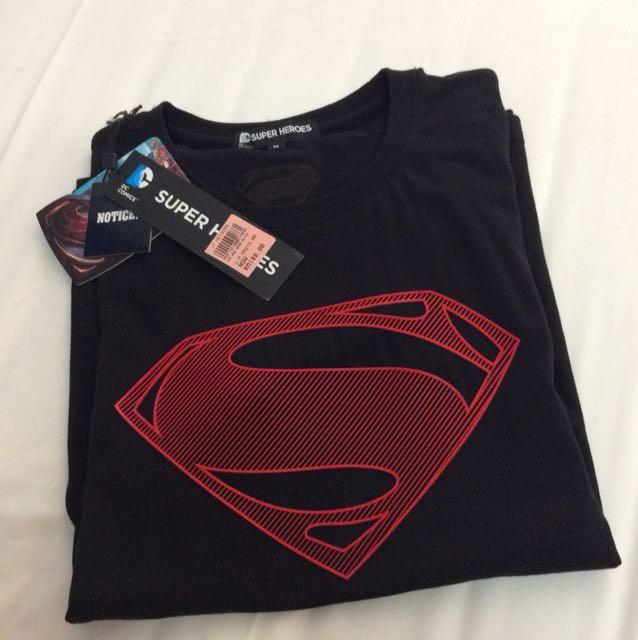 Authentic super heroes dc comic superman shirt