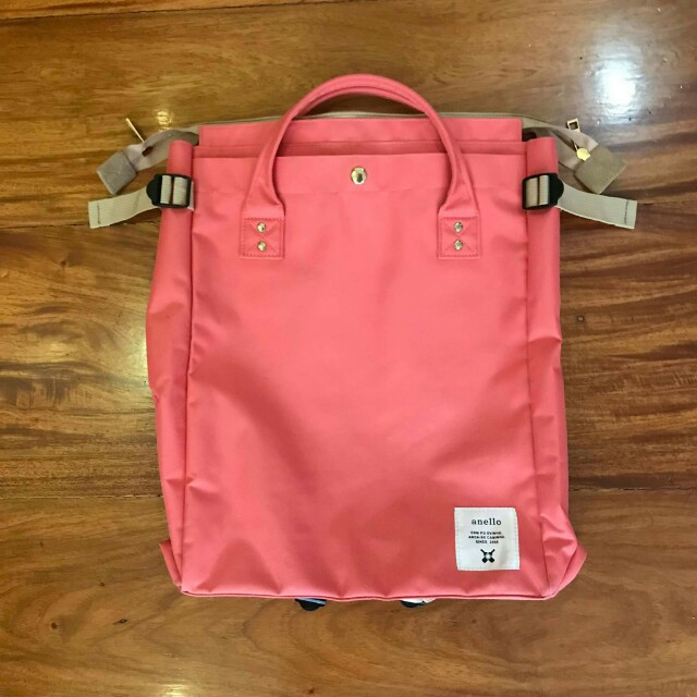 NEGOTIABLE/FREE SF: ANELLO 2-WAY SQUARE BACKPACK