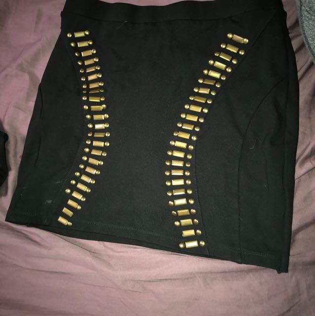 Bebe XS mini skirt