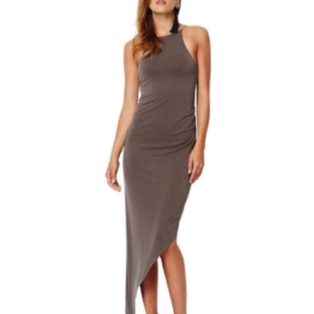 Bec & Bridge Asymmetrical Sandalwood Dress Size 6