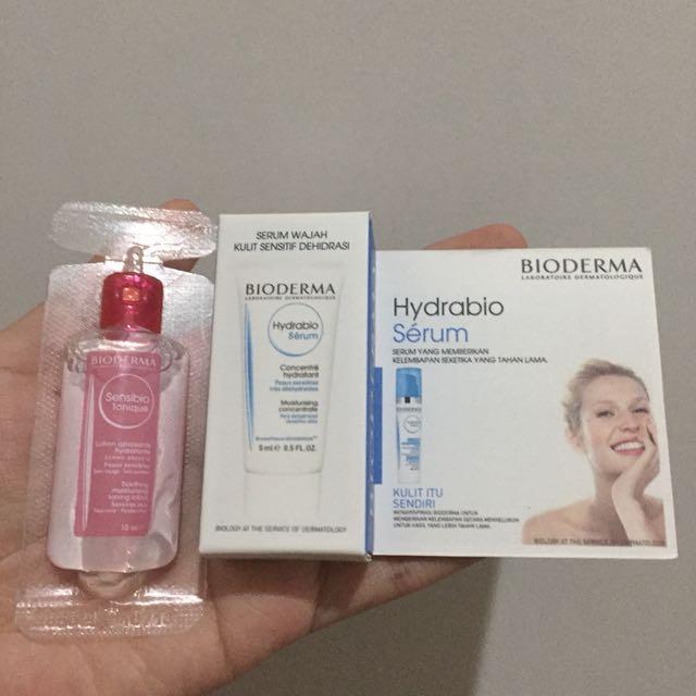 Bioderma hydrabio serum & sensibio tonique
