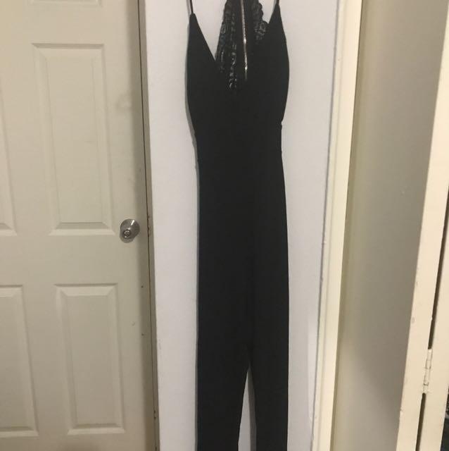 Black XS jumpsuit