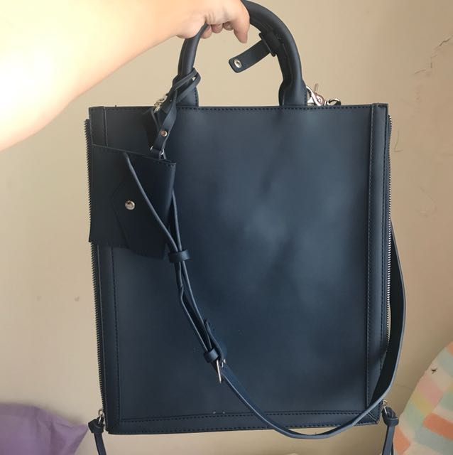 Blue Slim Bag