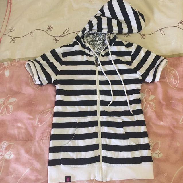 BNY Reversible Hoodie Jacket