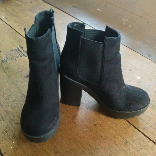 Boots H&M suede