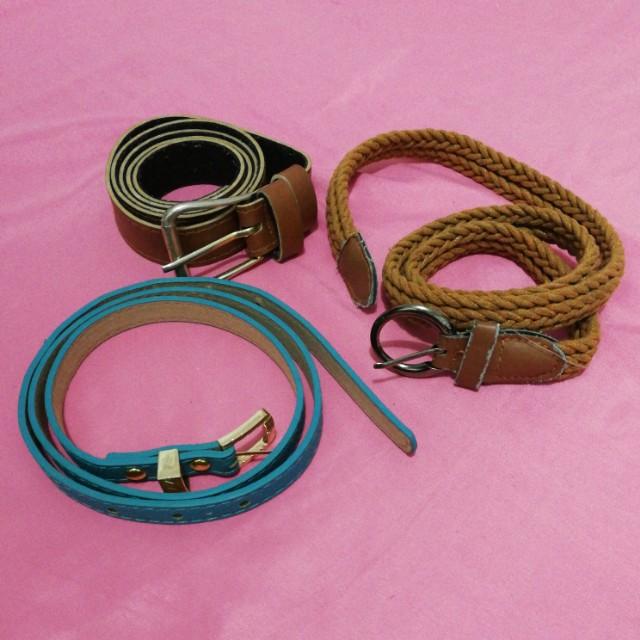 Bundle Belts