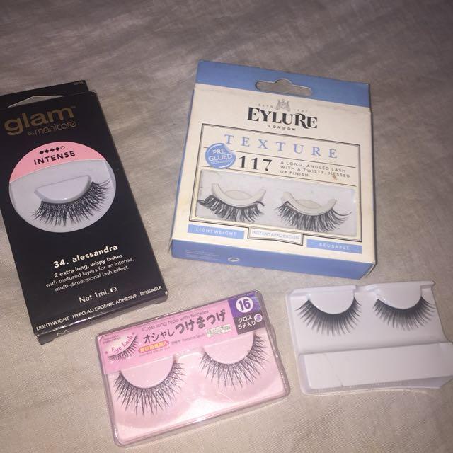 Bundle eyelashes