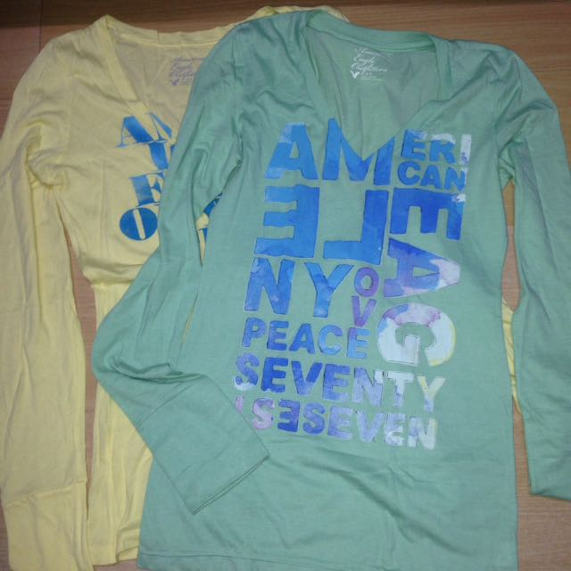 BUNDLE FOR 2 AUTHENTIC AMERICAN EAGLE