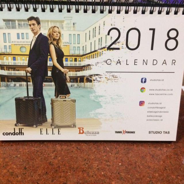 calender kalender meja