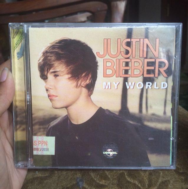CD Album Justin Bieber - My World