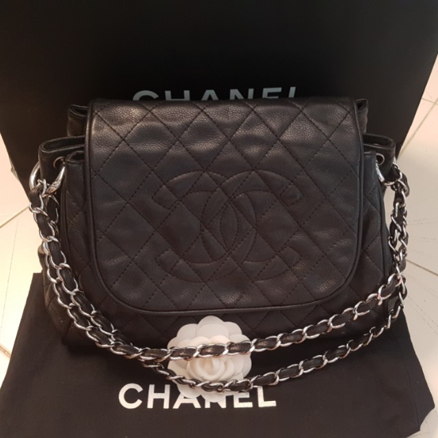 4f7a3420c398 Cheapest ! LN Chanel Accordion Flap, Luxury, Bags & Wallets on Carousell