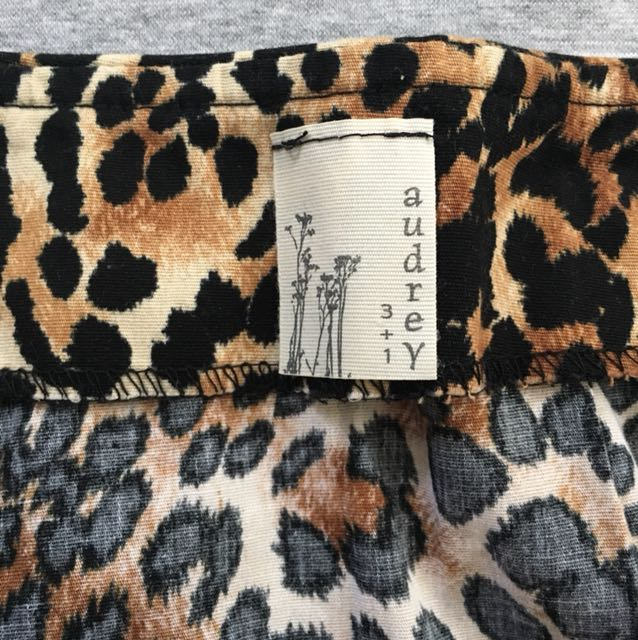 Cheetah Print Mini Skirt - 8