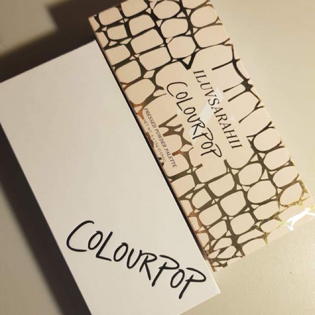 Colourpop Iluvsarahii collaboration