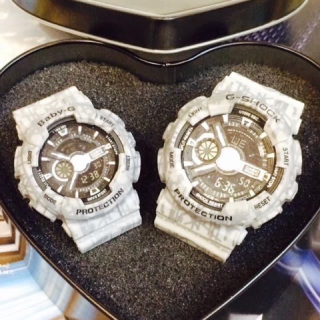 COUPLE G-SHOCK ANS-054