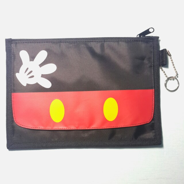正版Disney米奇卡夾包🐁