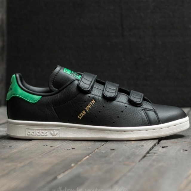 the best attitude 25f85 5924c Adidas Stan Smith CF Core Black   Green, Men s Fashion, Footwear on  Carousell