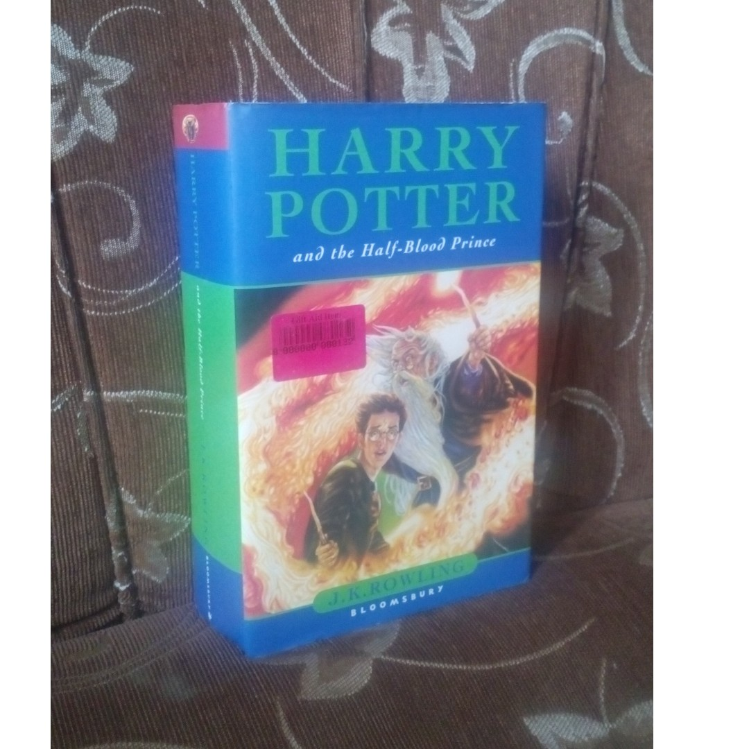 First Edition Harry Potter and the Half-Blood Prince