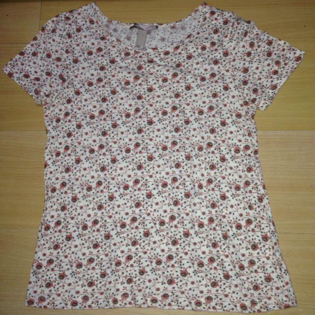 forever21 floral shirt