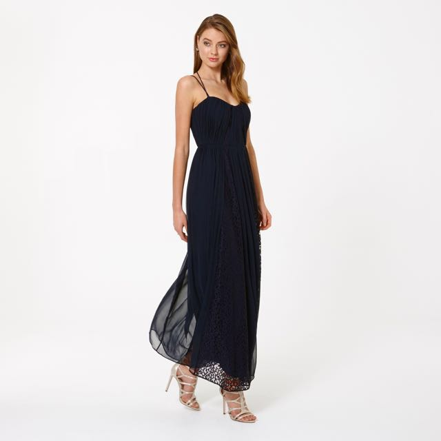 Forever New Navy Prom Dress