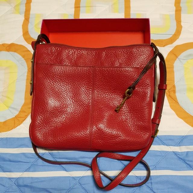 1db5c081552f0 Fossil Red Crossbody (Sling bag)