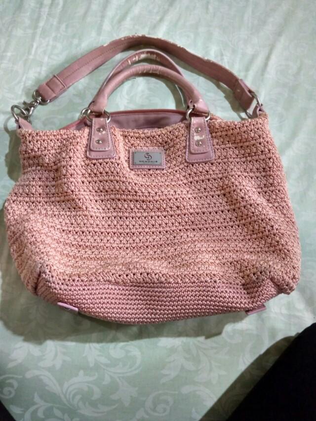 Gendhis dusty pink bag