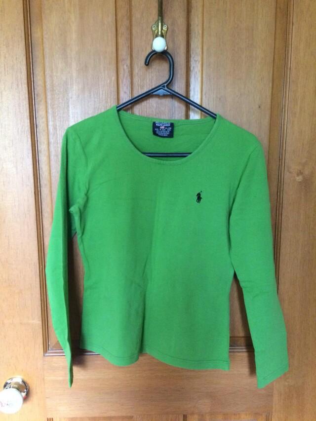 Green Polo Ralph Lauren top