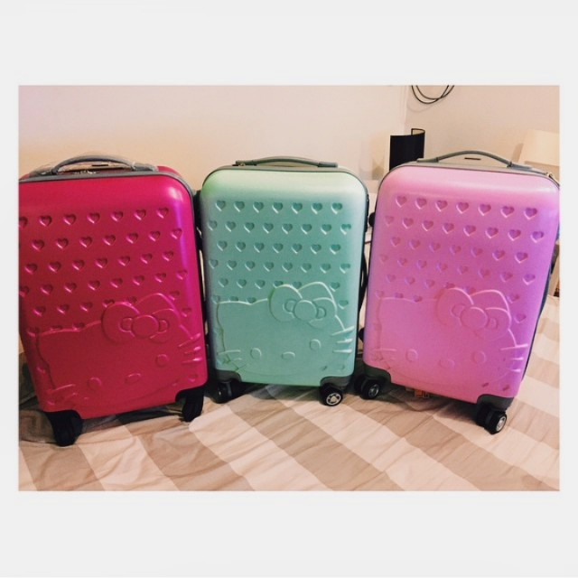 Hellokitty luggage