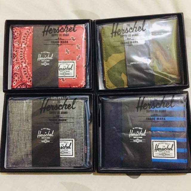 Herschel Roy Bifold Wallets