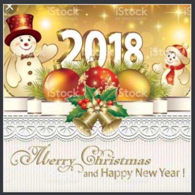 Hi...! Mulai tgl 24 Desember lapak kami LIBUR,dan buka kembali tgl 10 Januari 2018. Selamat Natal....! b merayakan....🙏Selamat Tahun Baru Januari 2018 tuk semuanya....🎉🎉