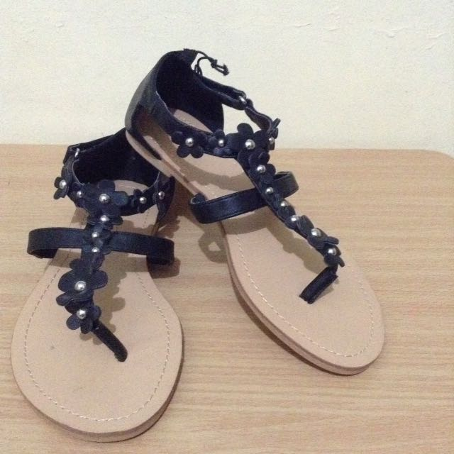 H&M Floral Sandals