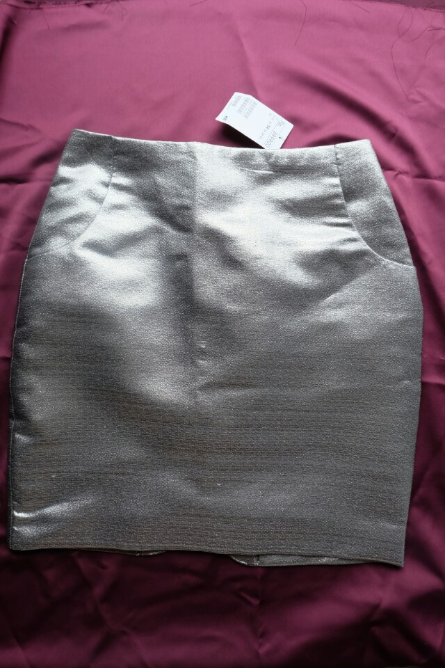 HnM Pencil Skirt Silver