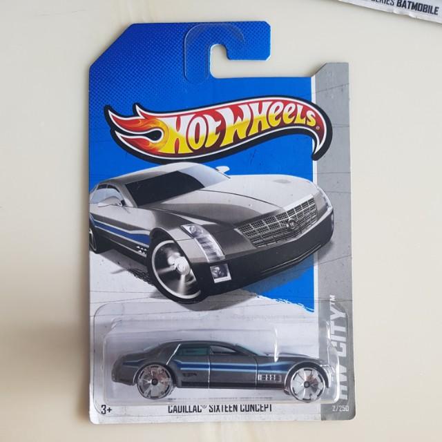 Hotwheels Cadillac Sixteen Toys Games Bricks Figurines On