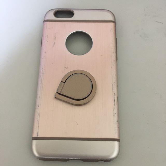 [贈]iphone6/6s 粉色系手機殼 i6/i6s