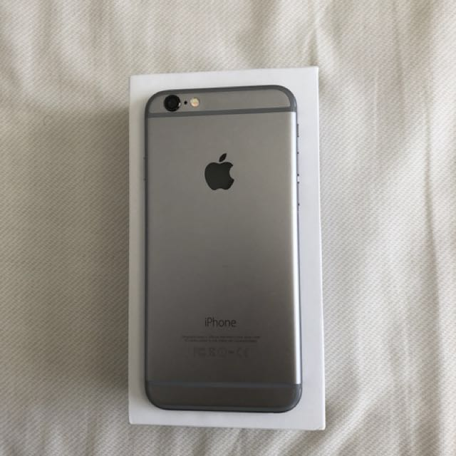iPhone 6 unlocked Space Gray 16GB  A1549