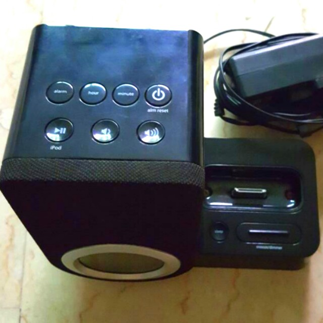 Ipod iphone integrated speaker alarm ihome system with free delivery ...