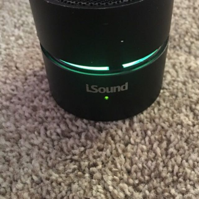 iSound Portable Bluetooth Speaker
