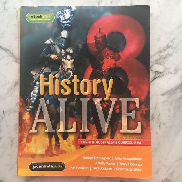 Jacaranda History Alive 8 Textbook