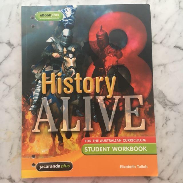 Jacaranda History Alive 8 Workbook
