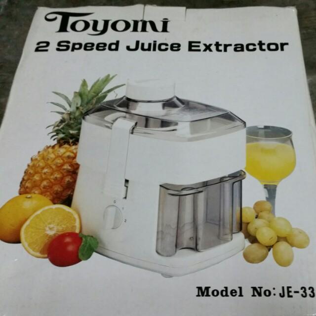 Juice Extractor 2 speed