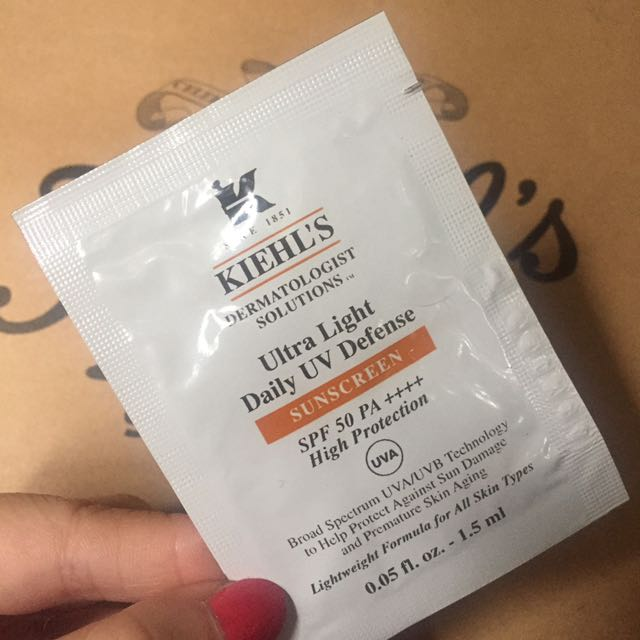 Kiehls sunscreen / sunblock