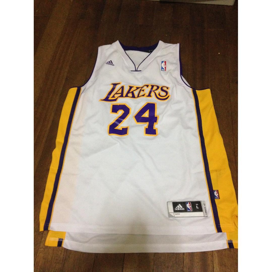 Kobe LA Jersey white (Streetwear brands,local fits)