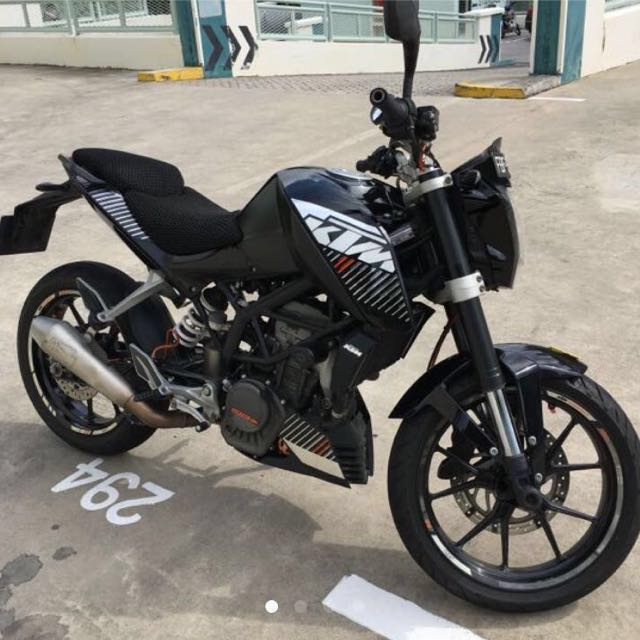 ktm duke 125 2011 full cash motorbikes motorbikes. Black Bedroom Furniture Sets. Home Design Ideas