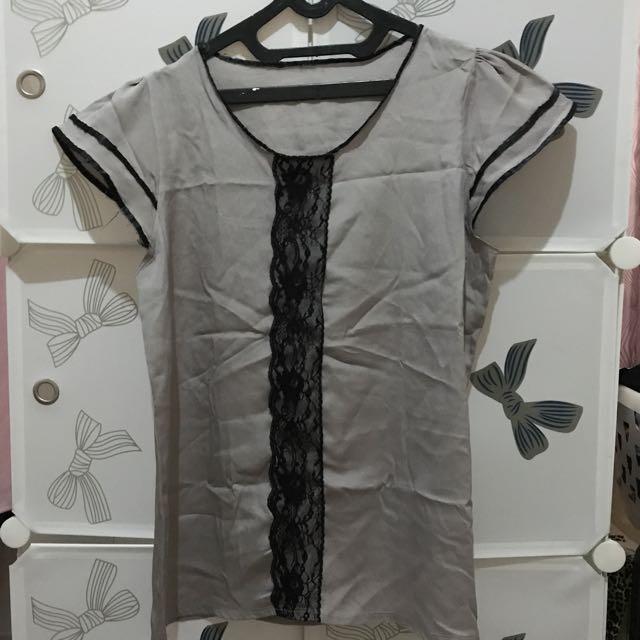 Lace list blouse