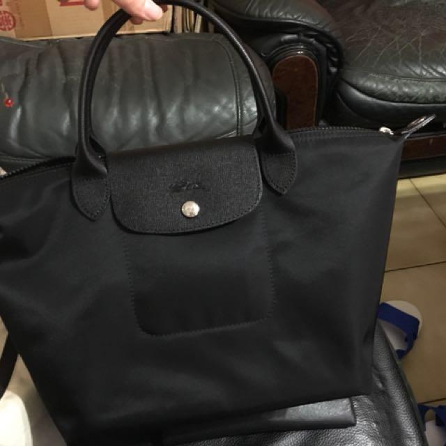 急售!!Longchamp Neo黑色