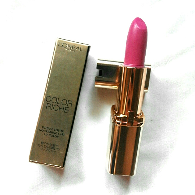 Loreal Paris Color Riche In Think Pink