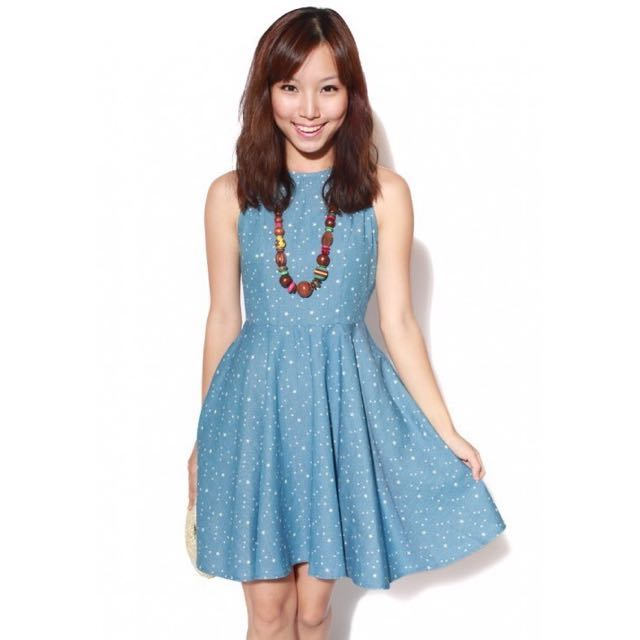 Love Bonito Auburn Dress in Light [L]