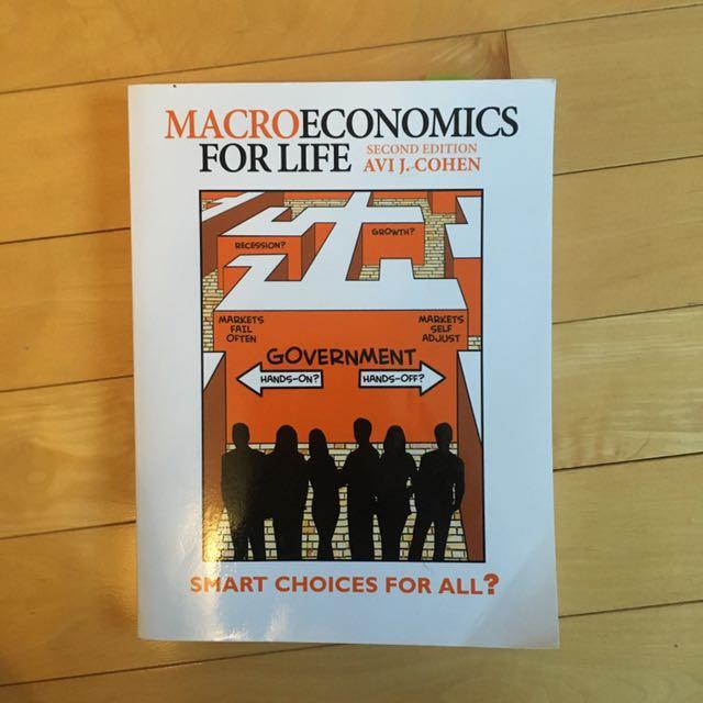 Macroeconomics for Life - Cohen